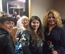Linda, Elly And Tamara with Three Degrees at Truro Hall for Cornwall