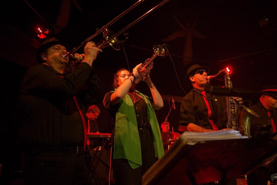 Soul Sensation Horn section 2020 acorn theatre penzance