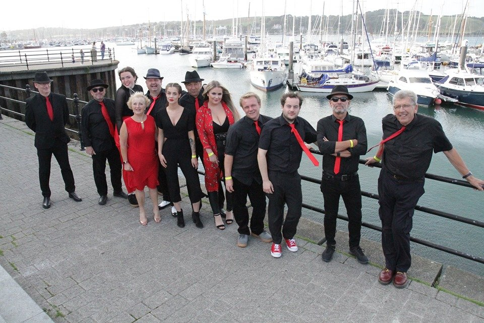 Soul Sensations backstage 2019 Falmouth harbour