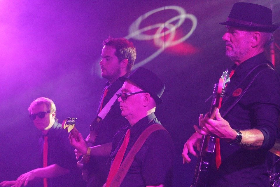 Soul backline 2019, Bob Black, Andy Thomas, Andy Roberts, Paul Buzza