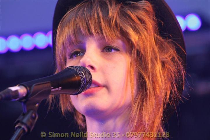 Ellie Gow 2012  with hat , Soul Sister, Sensation