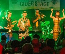 Looe Music Festival 2014 Higher and Higher. Falmouth Soul Sensation