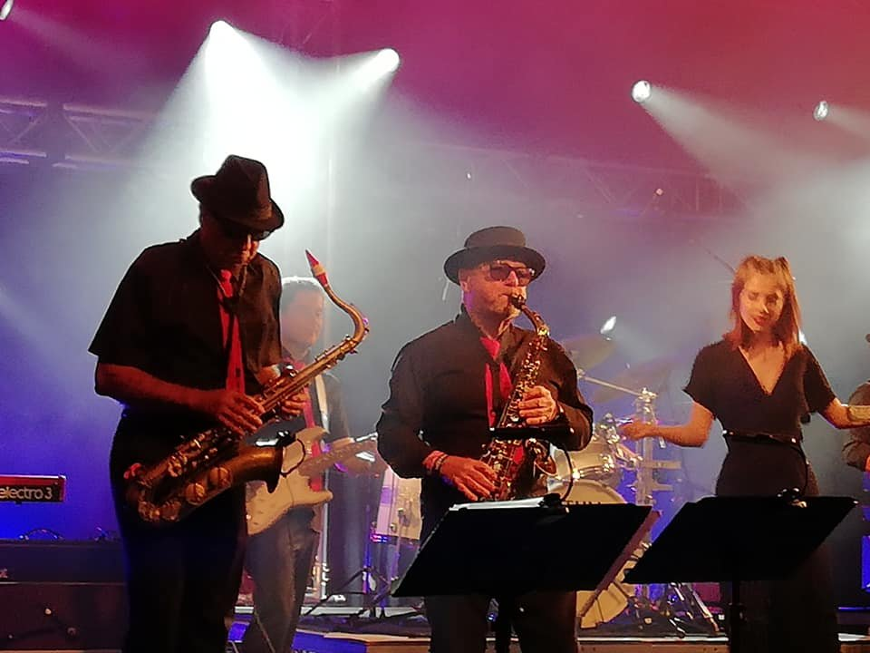 Falmouth Soul Sensations haunting horn section